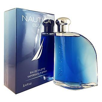 Nautica blue pour homme 3.4 oz eau de toilette vaporisateur
