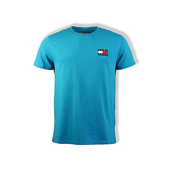 Tommy Jeans Badge T-Shirt (Exotic Teal)