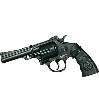 Pistolet plastique GSG 9 12 tir cowboy revolver du Far West accessoire Carnaval