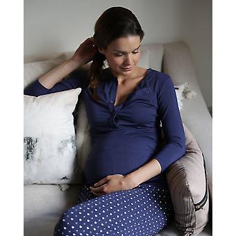 De Essential One Moederschap Long-sleeve Heart Print Nursing Pyjama's
