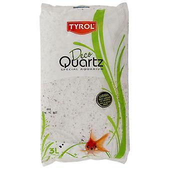 Agrobiothers Quartz Snow White 3L (Vissen , Decoratie , Grind en zand)