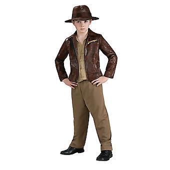 Indiana Jones barnekostyme