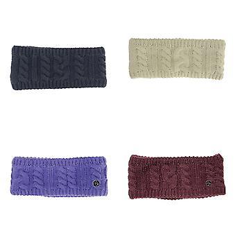 HyFASHION Adults Meribel Cable Knit Headband