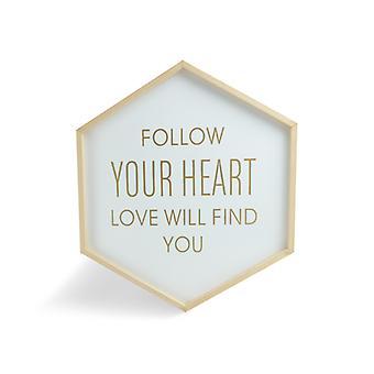 Tavla Hexagon - Seuraa sydäntäsi
