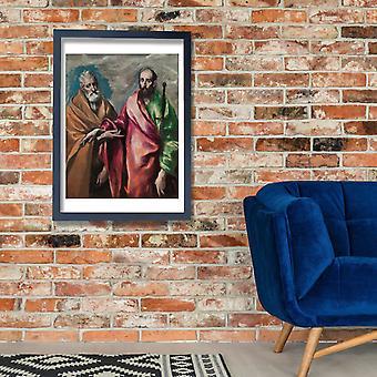 El Greco - Saint Peter and Saint Paul Poster Print Giclee