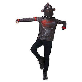Frt- Black Knight Kostuum Top