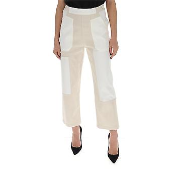 See By Chloé Chs20udp031621za Women's White Cotton Pants