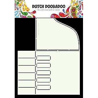 Niederländisch Doobadoo niederländische Karte Kunst Klavier A4 470.713.677