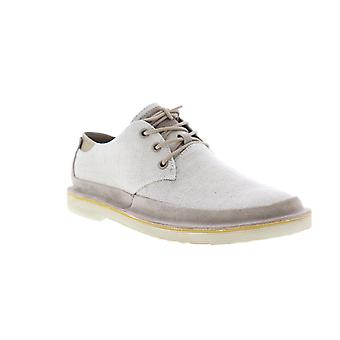 Camper Morrys  Mens Beige Tan Canvas Casual Lace Up Oxfords Shoes