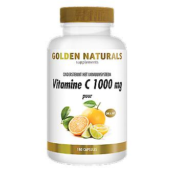 Golden Naturals Vitamin C 1000 mg pure (180 vegan capsules)