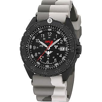 שעון יד של מישהו שהיה אוכף. שחור טיטאן משנת CR . אני מבין. DC5