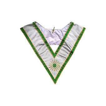 Masonic collar – french chapter – 5th order – justice