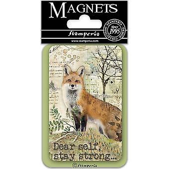 Stamperia Kettu 8x5.5cm Magneetti
