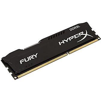 HyperX HX316LC10FB/4 Fury 4 GB, 1600 MHz, DDR3L, CL10, UDIMM, 1.35 V, Black