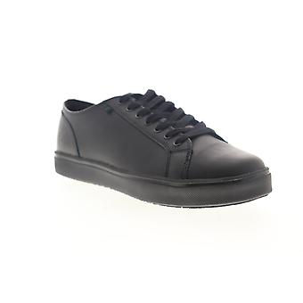 Emeril Lagasse Canal Leather Mens Black Wide 2E Lace Up Low Top Sneakers Shoes
