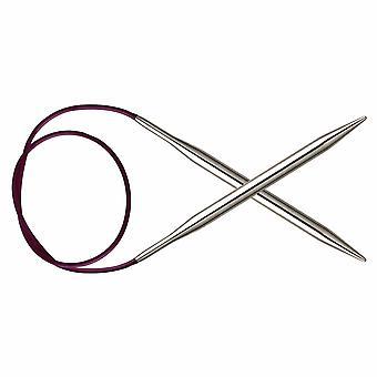 Nova Metal: Knitting Pins: Circular: Fixed: 40cm x 3.50mm