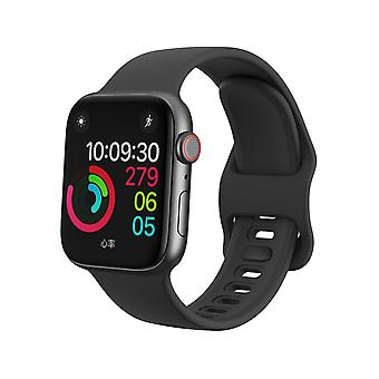 Pulseira Apple Watch 38/40 silicone - Preto