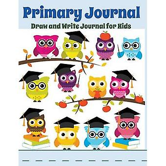 Primary Journal Draw and Write Journal for Kids Graduation Owls by Kids & Creative