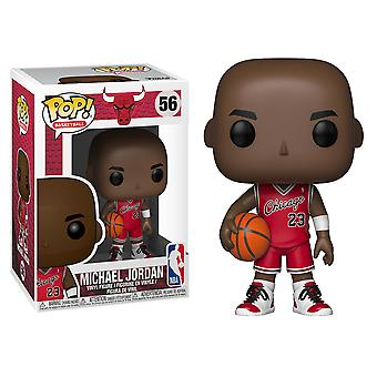 NBA Bulls Michael Jordan Rookie Uniform US Pop! Vinyl