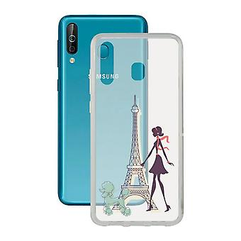 Mobile cover Samsung Galaxy A40s Contact Flex France TPU