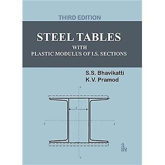Steel Tables With Plastic Modulus of I.S. Sections by S S Bhavikatti