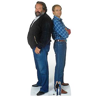 Bud Spencer and Terence Hill Lifesize Cardboard Cutout / Standup