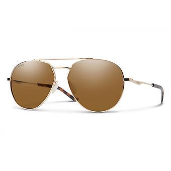 Westgate Sonnenbrillen Männer Gold/Braun