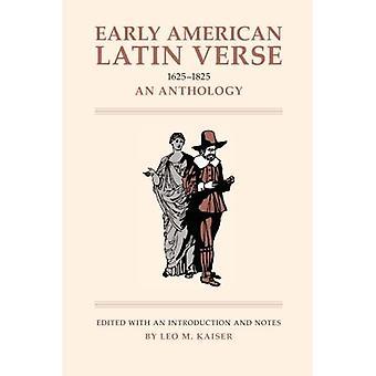 Early American Latin Verse