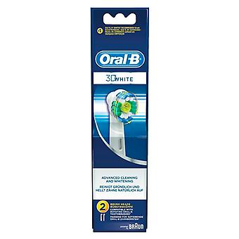 Replacement Head 3d White Pro-bright Oral-B (2 uds)