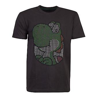 Officiel Nintendo Super Mario Yoshi Rubber Imprimé Men-apos;s T-shirt