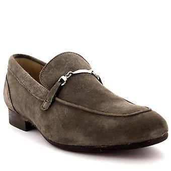 Mens H por Hudson Navarra camurça Slip escritório inteligente trabalho sapatos sapatos