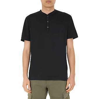 C.p. Företag 08cmts155a000444g99 Men's Black Cotton T-shirt