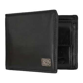 Camel active mens wallet wallet purse with RFID-chip protection black 7320