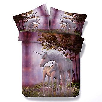 YANGFAN Duvet Cover&Pillowcases 3Pcs Set