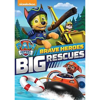 Paw Patrol: Brave Heroes Big Rescues [DVD] USA import