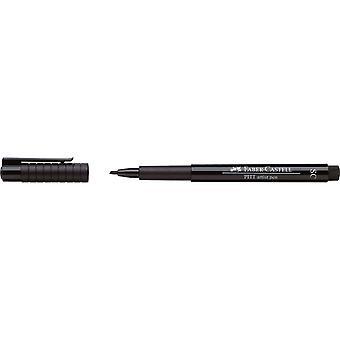 Faber Castell Pitt Artist Soft Chisel Pen (SC, 199 Black)