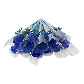 Parfymerade Rosor - Blå