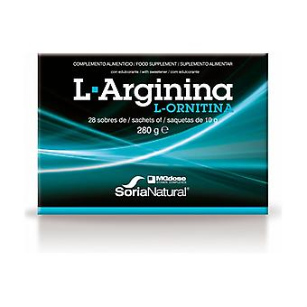 L-Arginine and L-Ornithine 28 packets