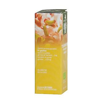Biologische zonnebloem - glycerol maceraat van gekiemde zaden 30 ml
