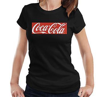 Coca Cola Block Logo Frauen's T-Shirt