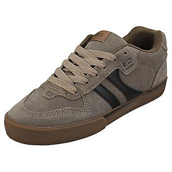 Globe Encore 2 Mens Casual Trainers in Walnut