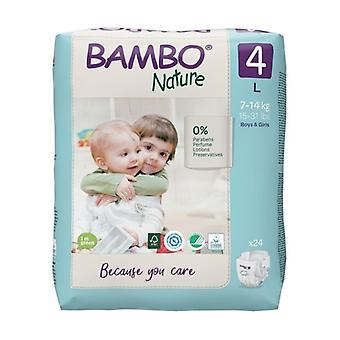 T4 diapers (7-14 Kg) ECO 24 units