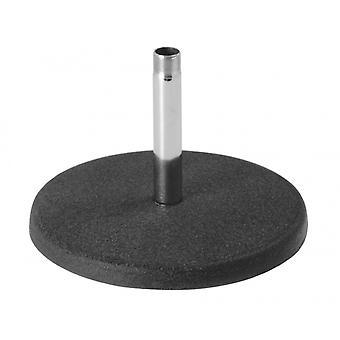 DS7100C, einfacher Tischständer mit fester Höhe, Chrom