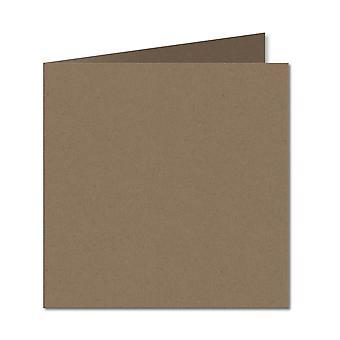 """פלק מאנילה. 153 מ""""מ x 306 מ""""מ. 6 אינץ' מרובע. 280gsm כרטיס מקופל ריק."""