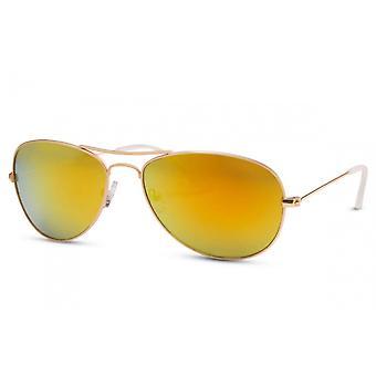 النظارات الشمسية الرجال الطيار الرجال Cat.3 الأصفر / الذهب (CWI436)