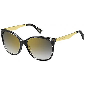 Sunglasses Women's Marc 203/S Cat's Eye Black/gold