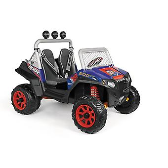 peg perego blue/red polaris rzr 900 xp 480w 24v electric jeep blue/red