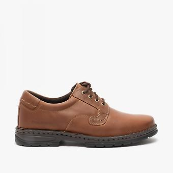 Hush Chiots Outlaw Ii Mens Chaussures en cuir Brown