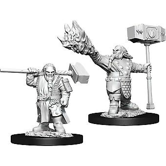 D&D Nolzur's Marvelous Unfnted Minis Male Dwarf Cleric