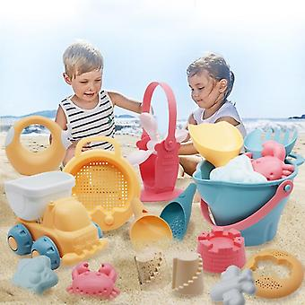 Summer  Beach Game Children Sandbox Set Kit Toys For Beach Play- Sand Bathroom Water Game Play Cart